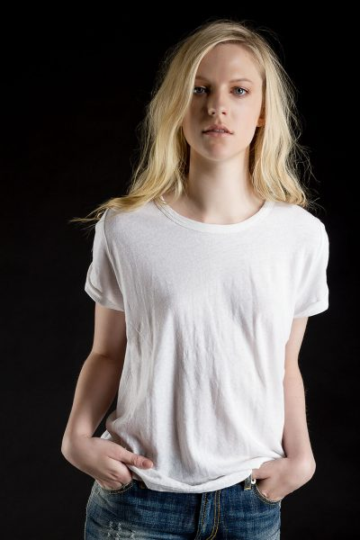Baby Tee, White, 55% Linen 45% Cotton | Paychi Guh