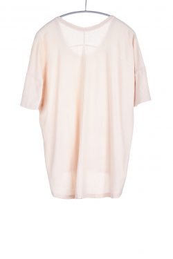 Boxy Tee, Nude, 55% Linen 45% Cotton | Paychi Guh