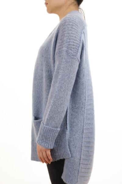 Paychi Guh | Dreamy Cardigan, Atlantic, 100% Dreamy Cashmere