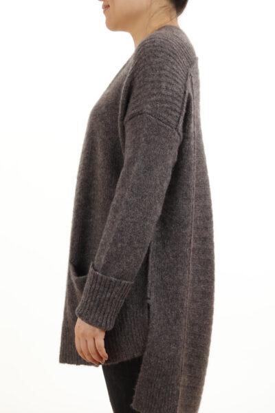 Paychi Guh | Dreamy Cardigan, Musk, 100% Dreamy Cashmere