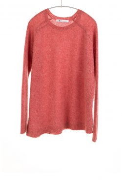 Paychi Guh | Dreamy Crew, Coral, 100% Dreamy Cashmere