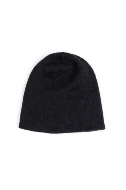 Paychi Guh | Slouchy Beanie, Black, 100% Cashmere