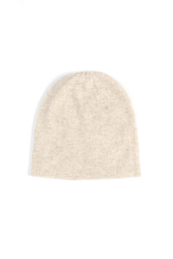 Paychi Guh | Slouchy Beanie, Oatmeal, 100% Cashmere