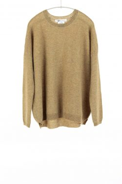 Paychi Guh | Textured Crew, Chamomile, 100% Cashmere