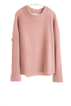 Paychi Guh | Relaxed Pullover, Rose, 100% Cashmere