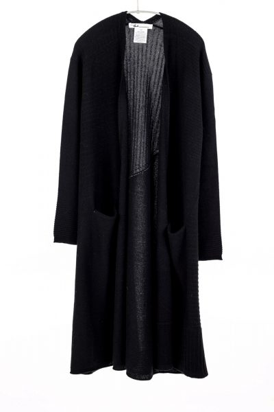 Paychi Guh | Swing Duster, Black, 100% Cashmere