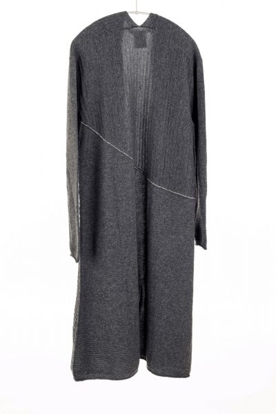 Paychi Guh | Swing Duster, Dk H Grey, 100% Cashmere