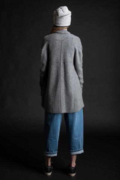 Paychi Guh | Dreamy Cardigan, Thunder, 100% Dreamy Cashmere