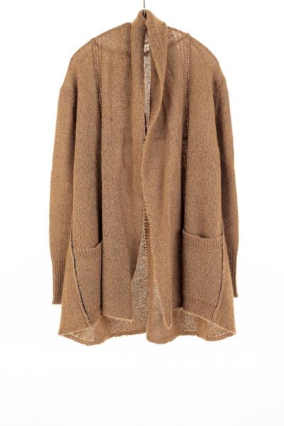 Paychi Guh | Dreamy Cardigan, Walnut, 100% Dreamy Cashmere