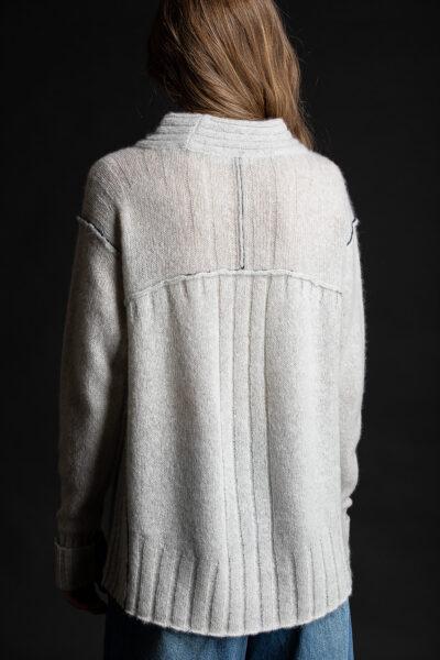 Paychi Guh | Dreamy Mock, Mist, 100% Dreamy Cashmere