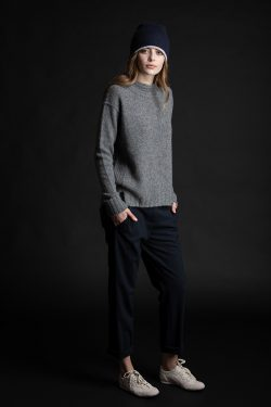 Paychi Guh | Dreamy Mock, Thunder, 100% Dreamy Cashmere