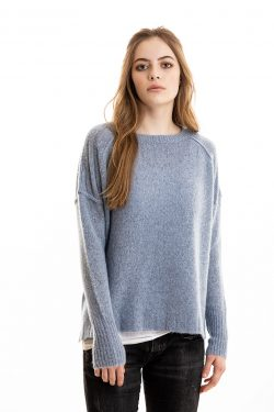 Paychi Guh | Dreamy Pullover, Atlantic, 100% Dreamy Cashmere