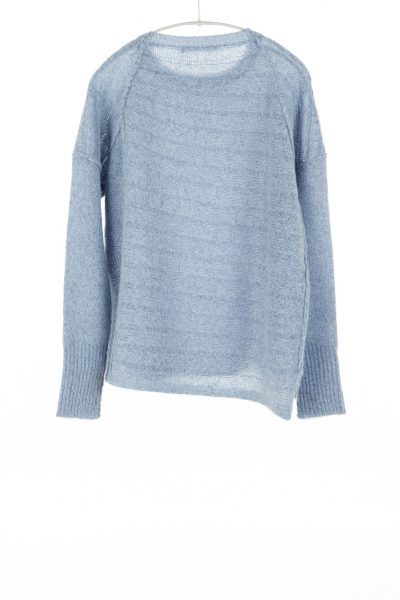 Paychi Guh | Dreamy Pullover, Atlantic, 100% Dreamy Cashmere