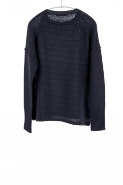 Paychi Guh | Dreamy Pullover, Black, 100% Dreamy Cashmere