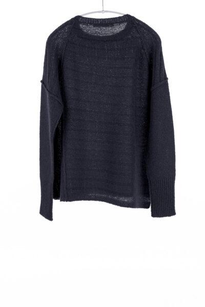 Paychi Guh | Dreamy Pullover, Black, 100% Dreamy Cashmere