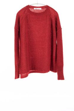 Paychi Guh | Dreamy Pullover, Garnet, 100% Dreamy Cashmere