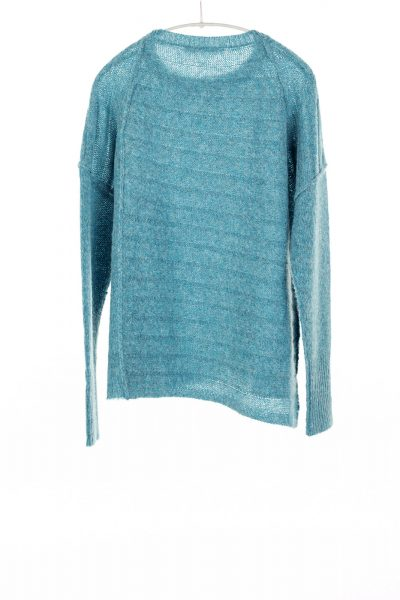 Paychi Guh | Dreamy Pullover, Peacock, 100% Dreamy Cashmere