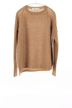 Paychi Guh | Dreamy Pullover, Walnut, 100% Dreamy Cashmere