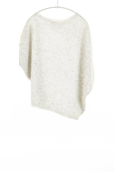 Paychi Guh | Asymmetrical Popover, Mist, Cashmere Silk