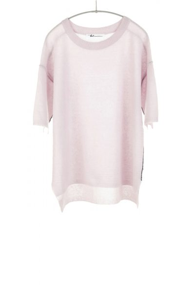 Paychi Guh | Half Sleeve Pullover, Lilac, Cashmere Silk
