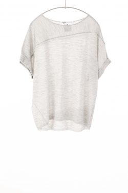 Paychi Guh | Cuffed Pullover, Dove Grey, 100% Worsted Mongolian Cashmere