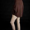 Paychi Guh | Dreamy Cocoon Cardigan, Americano, 100% Dreamy Cashmere
