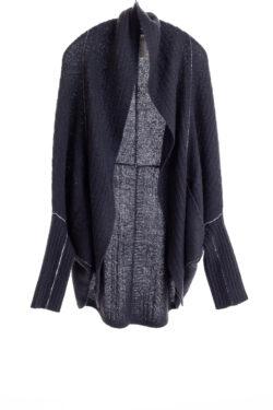 Paychi Guh | Dreamy Cocoon Cardigan, Black, 100% Dreamy Cashmere