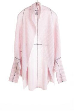 Paychi Guh | Dreamy Cocoon Cardigan, Lavender, 100% Dreamy Cashmere