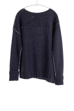 Paychi Guh | Dreamy Bateau, Black, 100% Dreamy Cashmere