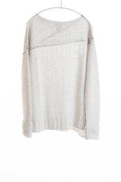 Paychi Guh | Dreamy Bateau, Mist, 100% Dreamy Cashmere