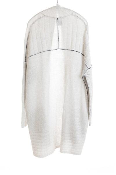 Paychi Guh | Dreamy Long Cardigan, Mist, 100% Dreamy Cashmere