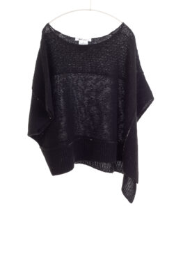 Paychi Guh | Popover, Black, Cashmere Silk