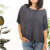 Paychi Guh | Popover, Indigo, Cashmere Silk