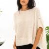 Paychi Guh | Popover, Ivory, Cashmere Silk