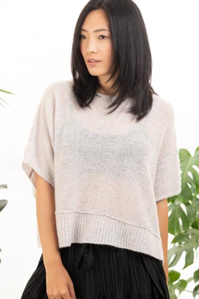 Paychi Guh   Popover, Lilac/Mist, Cashmere Silk