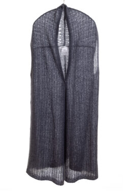 Paychi Guh | Vest, Indigo, Cashmere Silk
