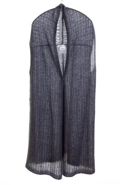 Paychi Guh   Vest, Indigo, Cashmere Silk