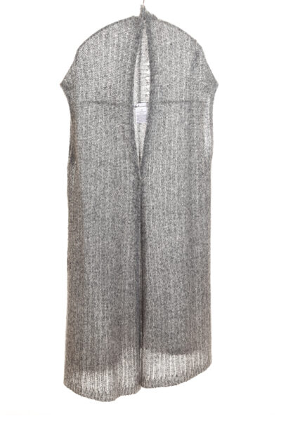 Paychi Guh   Vest, Thunder, Cashmere Silk