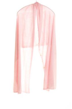 Paychi Guh | Button Wrap, Fluff, Superfine 70% Worsted Cashmere 30% Silk