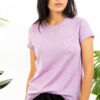 Paychi Guh   Baby Tee, Lavender, 100% Worsted Mongolian Cashmere