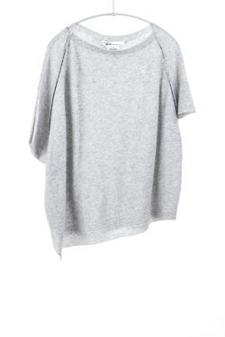 Paychi Guh | Airy Popover, Lt H Grey, 100% Airy Cashmere
