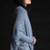 Paychi Guh | Dreamy Cozy Cardigan, Atlantic, 100% Dreamy Cashmere