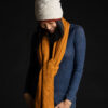 Paychi Guh | Textured Scarf, Gold, 100% Cashmere