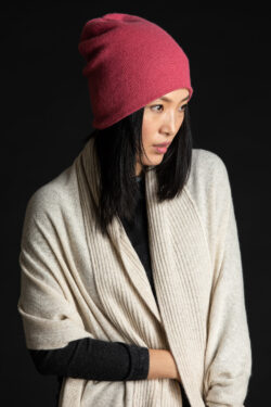 Paychi Guh | Textured Scarf, Oatmeal, 100% Cashmere