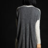 Paychi Guh   Dress, Snow Speckle/Thunder, 100% Mongolian Cashmere