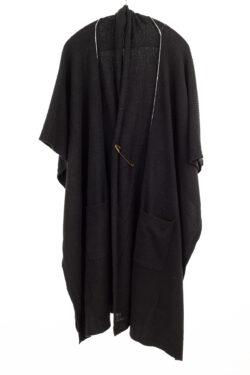 Paychi Guh | Wrap, Black, 100% Mongolian Cashmere