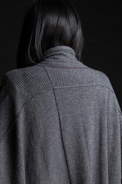 Paychi Guh | Wrap, Grey Speckle, 100% Mongolian Cashmere