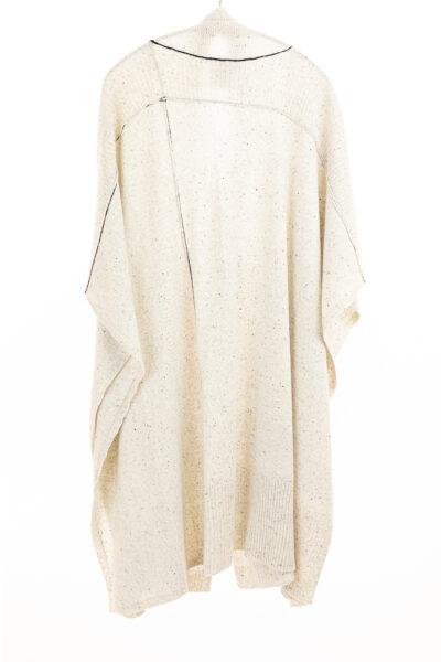 Paychi Guh | Wrap, Snow Speckle, 100% Mongolian Cashmere