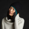Paychi Guh | Mock Pullover, Snow Speckle, 100% Mongolian Cashmere