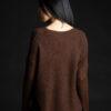 Paychi Guh   Dreamy Reversible Pullover, Americano Tonal, 100% Dreamy Cashmere